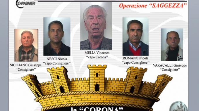 """Operazione """"Saggezza"""" contro la 'ndrangheta"""
