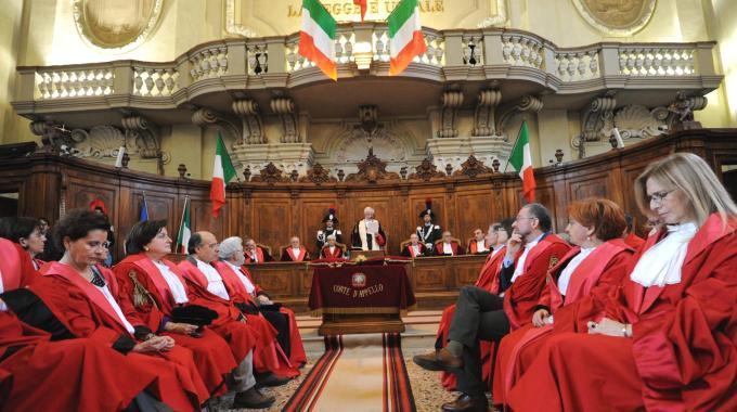 L'inaugurazione dell'anno giudiziario a Bologna (Schicchi)