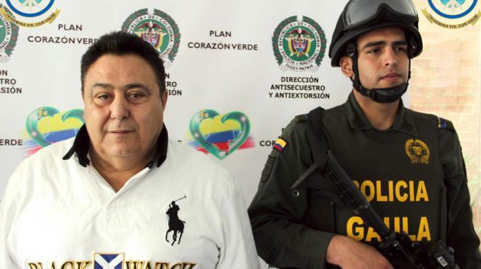 Il boss della 'ndrangheta Roberto Pannunzi arrestato a Bogotà (Ansa)
