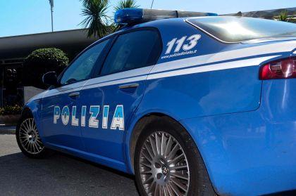 Un'auto della polizia.