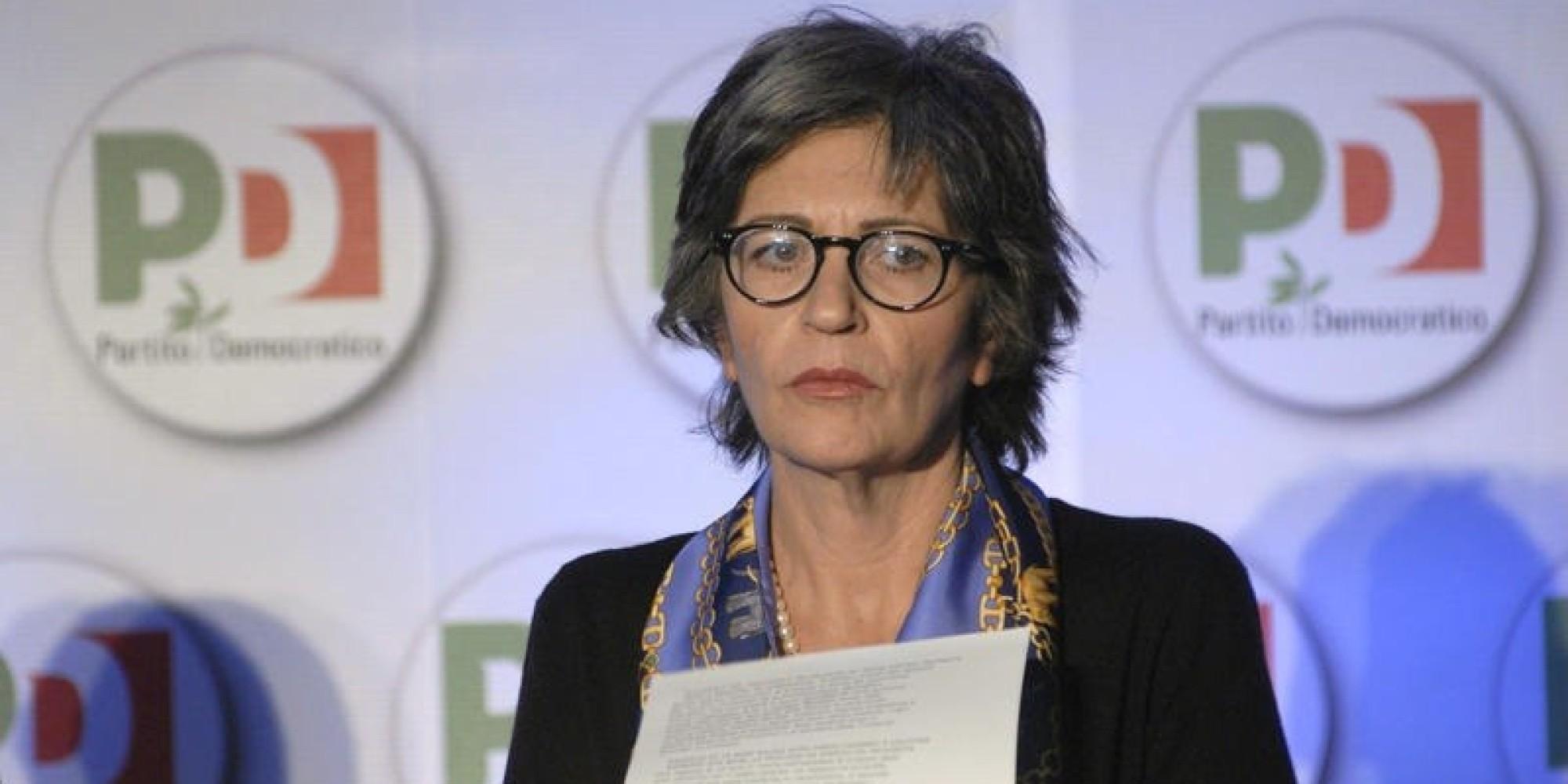20/01/2012 Roma, assemblea nazionale del Partito Democratico, nella foto Anna Finocchiaro